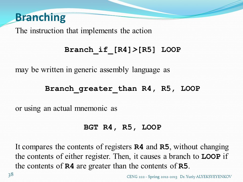 Branch_if_[R4]>[R5] LOOP Branch_greater_than R4, R5, LOOP